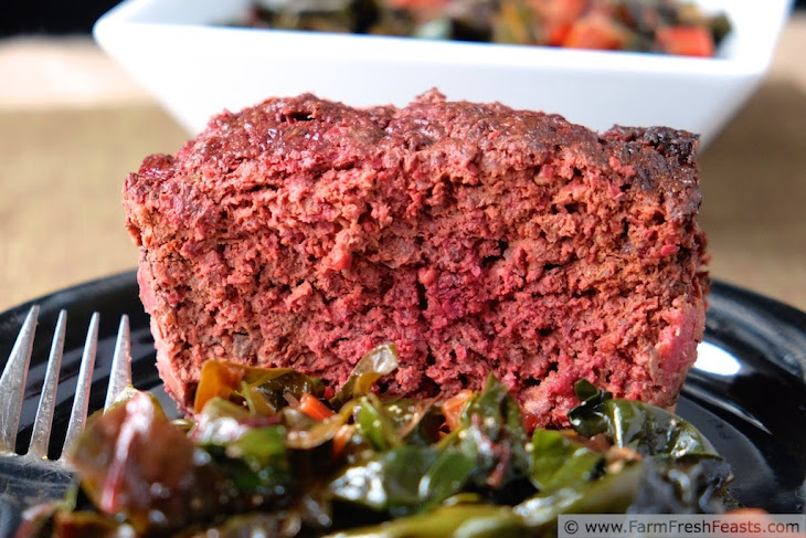 Beetloaf, a Story About a Meatloaf Recipe