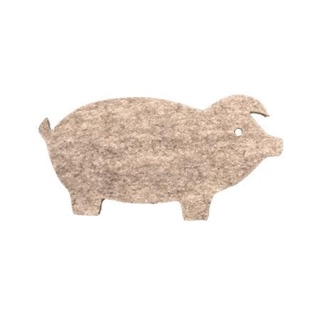 Grytunderlägg gris i ull