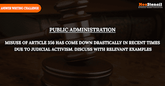 Public Administration Answer Writing Challenge - Question Set 4