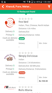 Gingerplate - Food Ordering- screenshot thumbnail