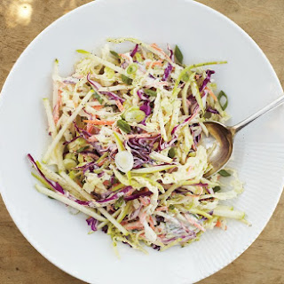 Coleslaw with Apple and Yogurt Dressing Recipe