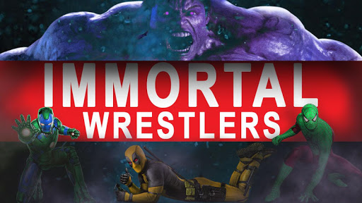 Superhero Immortal Wrestling Cage Revolution 2k18 1.0.4 screenshots 15