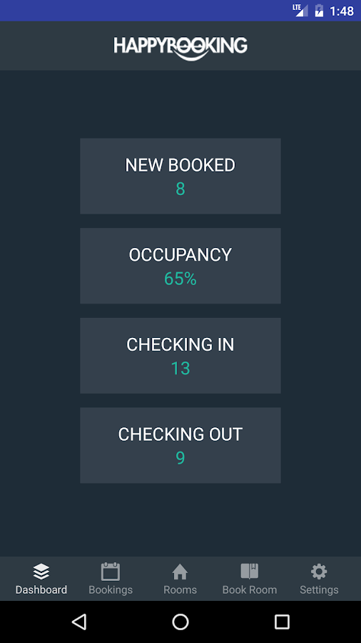 HappyBooking- screenshot