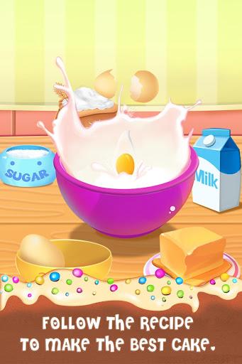 cake master cooking - food design baking games screenshot 1