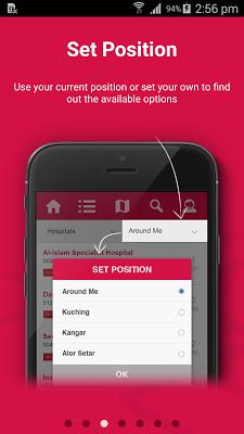 AIA Locator - screenshot