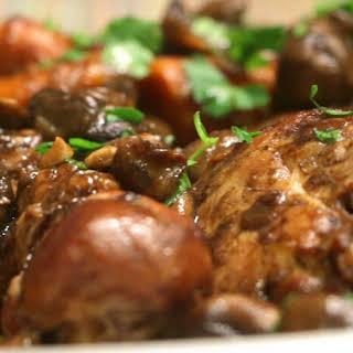 Braised Balsamic Chicken.