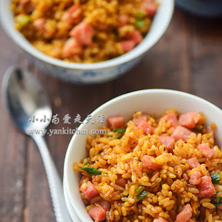 Stir-fried Rice with Soy Sauce
