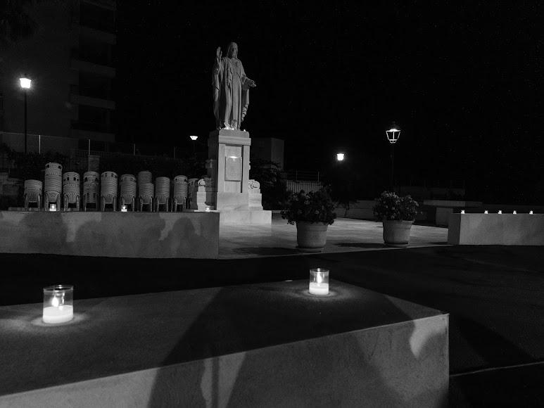 La Casa de la Espiritualidad acogió la despedida a don Ramón Garrido. Foto de Andy Arche.