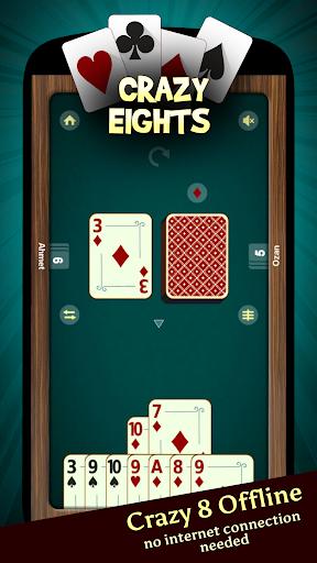 Crazy Eights - Offline