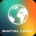 Manitoba, Canada Offline Map icon