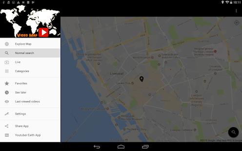 Video Map for Youtube Screenshot
