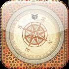 Qibla Compass - القبلة البوصلة-القبلة الباحث icon