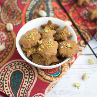Nan-E Nokhodchi | Persian Chick Pea Cookie with Cardamom and Pistachios.