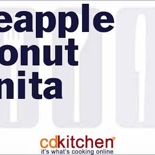 Pineapple Coconut Granita