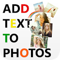 Text Graphy- Text on Photos icon