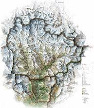 Photo: Carte du  Khumbu (Zoom en haut à droite...) 17 jours de trek avec l'agence http://www.basecamptrek.com