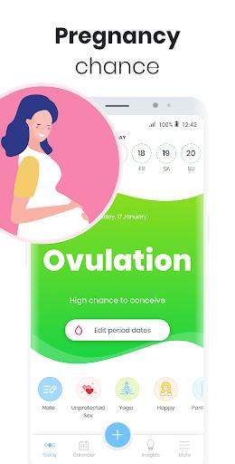 Period Tracker MIA: My Ovulation & Fertility & PMS 1.36 screenshots 2