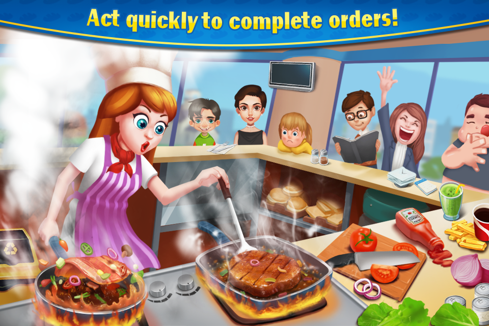 Crazy Cooking - Burger Master- screenshot