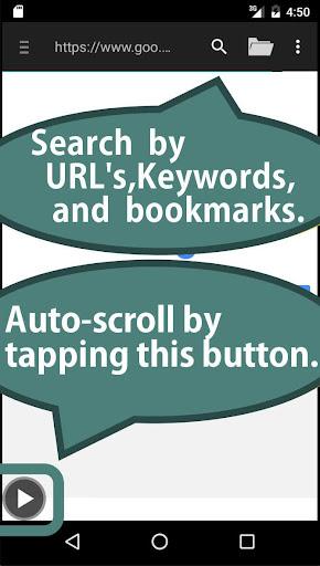 Auto-Scroll Browser 1.4.3 Windows u7528 1