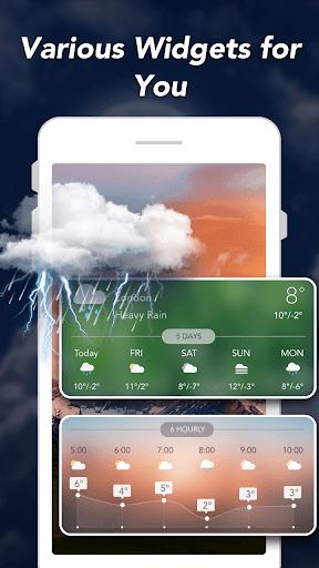 天气预报和小工具和雷达 screenshot 7