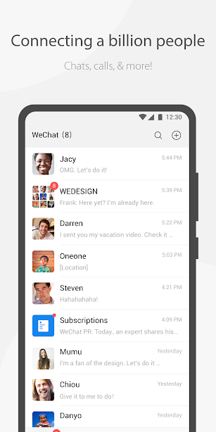 WeChat screenshot for Android