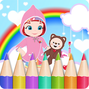 Download Painting Rainbow Ruby Coloring Book Games Apk Latest
