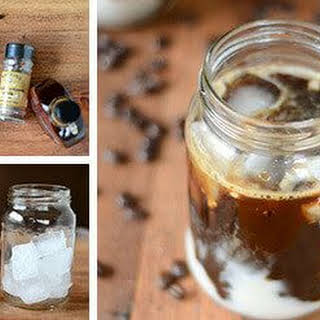 Thai Iced Coffee with Creamy Coconut Milk.