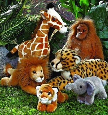 Jungle knuffels gezocht!