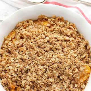 Rolled Oats Peach Crisp Recipes.