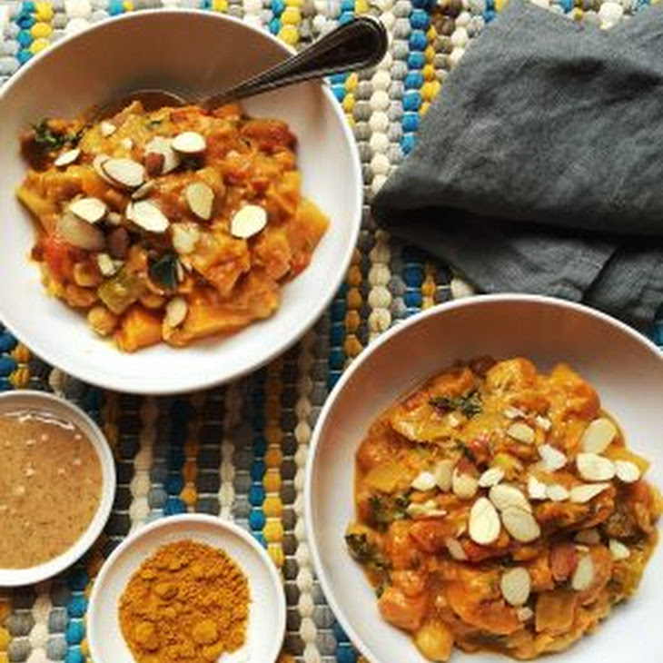African Almond Butter and Root Vegetable Stew Recipe