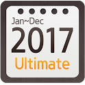 Calendar Widget 2017 Ultimate icon