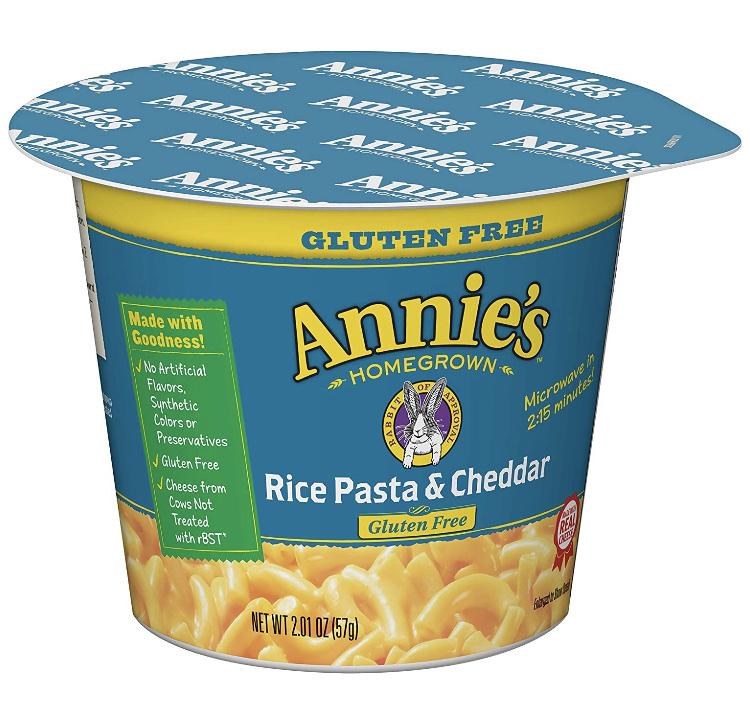Rice Pasta & Cheddar