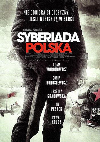 Przód ulotki filmu 'Syberiada Polska'
