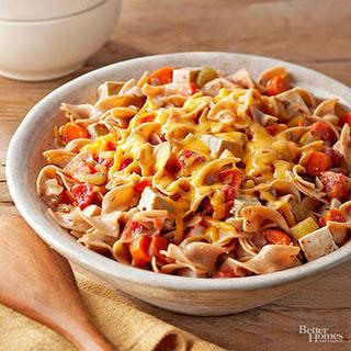 Cheesy Noodle Casserole.