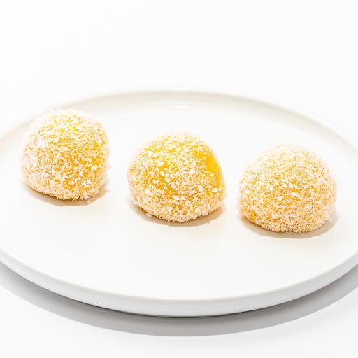 Mango Ice Cream Coconut Mochi (3 pcs)