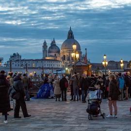 by Dragica Šilak - City,  Street & Park  Street Scenes ( venezia, street )