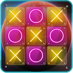Tic Tac Toe Space Icon