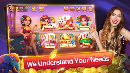 Rummy Plus - Teen Patti Callbreak Indian Card Game apkmr screenshots 1