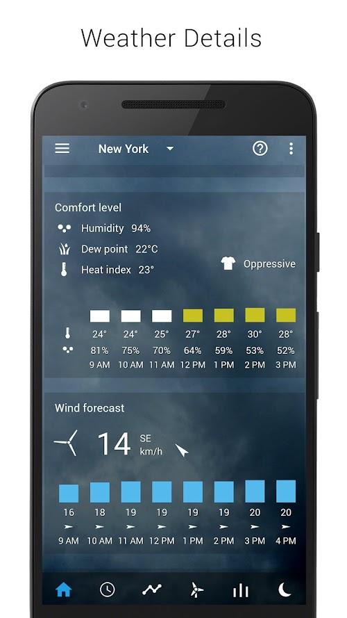Screenshot 4 Sense V2 Flip Clock & Weather 4.41.02 APK PAID