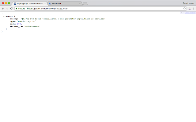 JSON view and formatter for Chrome™