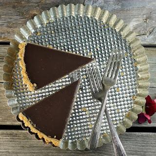 Chocolate Ganache Tart.