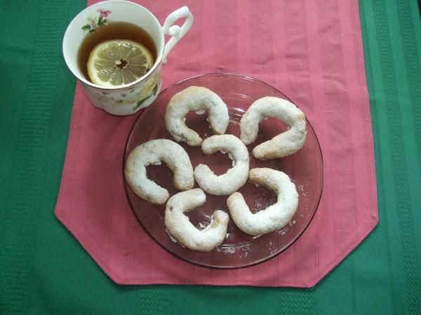Russian Tea Cookies. Recipe