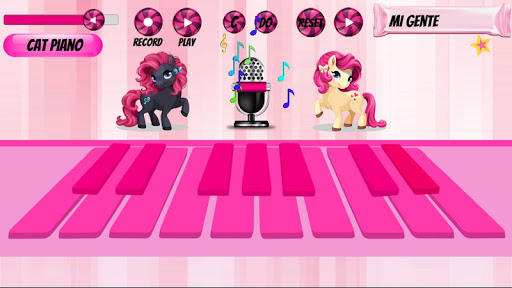 Girl Piano : Pink Piano android2mod screenshots 2