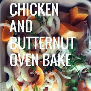 Chicken and Butternut Bake.