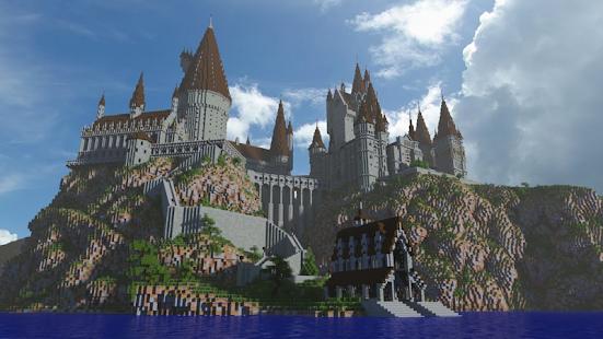 Map Hogwarts SA 2018 for MCPE - náhled
