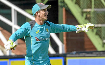 Picking up the pieces: Wicketkeeper Tim Paine has been appointed captain of Australia by new coach Justin Langer for their ODI series against England. Picture: GALLO IMAGES
