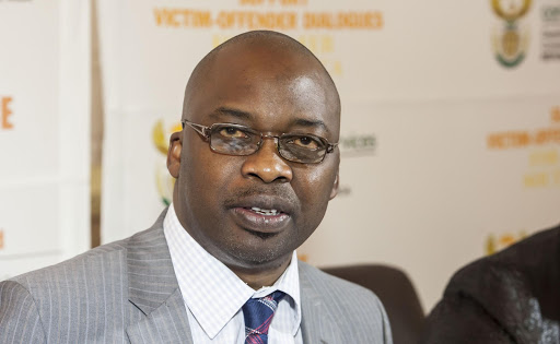 Justice minister Michael Masutha.
