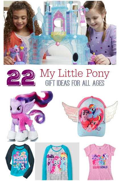 MLP Gifts for any My Little Pony fan - from young kids to the young at heart