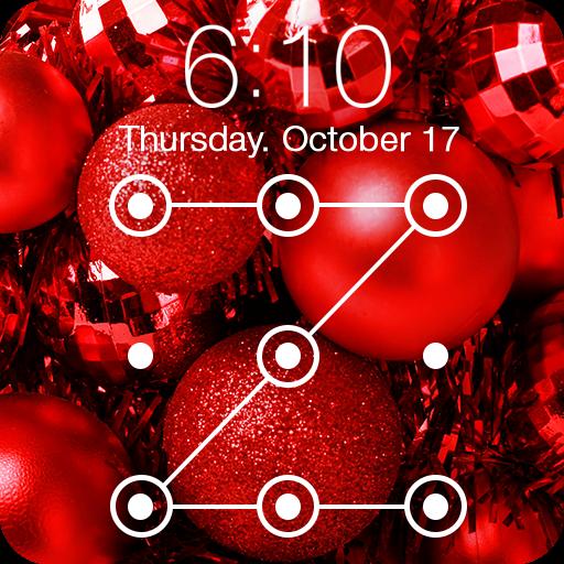 Merry Christmas Trees Toys Wallpaper Lock Screen