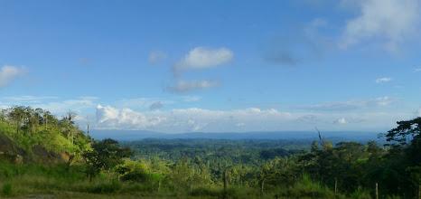 Photo: The bus from Tena to Papallacta climbs high above the Amazon region